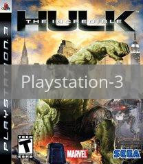 Image of The Incredible Hulk original video game for Playstation 3 classic game system. Rocket City Arcade, Huntsville Al. We ship used video games Nationwide