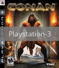 Image of Conan original video game for Playstation 3 classic game system. Rocket City Arcade, Huntsville Al. We ship used video games Nationwide