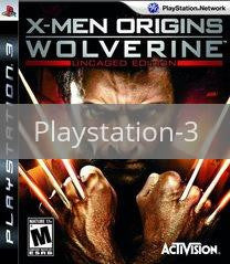 Image of X-Men Origins: Wolverine original video game for Playstation 3 classic game system. Rocket City Arcade, Huntsville Al. We ship used video games Nationwide