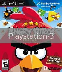 Image of Angry Birds Trilogy original video game for Playstation 3 classic game system. Rocket City Arcade, Huntsville Al. We ship used video games Nationwide