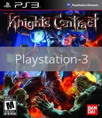 Image of Knights Contract original video game for Playstation 3 classic game system. Rocket City Arcade, Huntsville Al. We ship used video games Nationwide