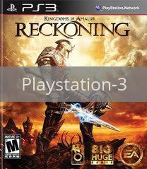 Image of Kingdoms Of Amalur Reckoning original video game for Playstation 3 classic game system. Rocket City Arcade, Huntsville Al. We ship used video games Nationwide