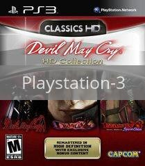 Image of Devil May Cry HD Collection original video game for Playstation 3 classic game system. Rocket City Arcade, Huntsville Al. We ship used video games Nationwide
