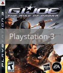 Image of G.I. Joe: The Rise of Cobra original video game for Playstation 3 classic game system. Rocket City Arcade, Huntsville Al. We ship used video games Nationwide
