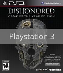 Image of Dishonored Game of the Year Edition original video game for Playstation 3 classic game system. Rocket City Arcade, Huntsville Al. We ship used video games Nationwide