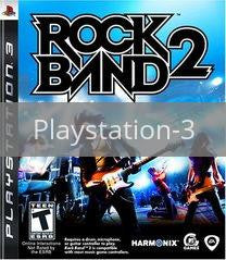 Image of Rock Band 2 (game only) original video game for Playstation 3 classic game system. Rocket City Arcade, Huntsville Al. We ship used video games Nationwide