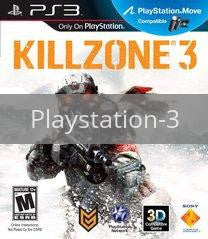 Image of Killzone 3 original video game for Playstation 3 classic game system. Rocket City Arcade, Huntsville Al. We ship used video games Nationwide