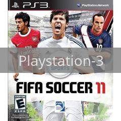 Image of FIFA Soccer 11 original video game for Playstation 3 classic game system. Rocket City Arcade, Huntsville Al. We ship used video games Nationwide