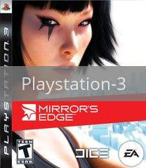 Image of Mirror's Edge original video game for Playstation 3 classic game system. Rocket City Arcade, Huntsville Al. We ship used video games Nationwide
