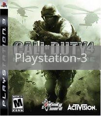 Image of Call of Duty 4 Modern Warfare original video game for Playstation 3 classic game system. Rocket City Arcade, Huntsville Al. We ship used video games Nationwide
