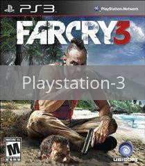 Image of Far Cry 3 original video game for Playstation 3 classic game system. Rocket City Arcade, Huntsville Al. We ship used video games Nationwide