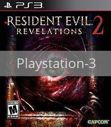 Image of Resident Evil Revelations 2 original video game for Playstation 3 classic game system. Rocket City Arcade, Huntsville Al. We ship used video games Nationwide