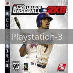 Image of Major League Baseball 2K8 original video game for Playstation 3 classic game system. Rocket City Arcade, Huntsville Al. We ship used video games Nationwide
