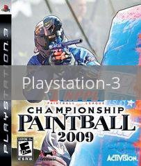 Image of NPPL Championship Paintball 2009 original video game for Playstation 3 classic game system. Rocket City Arcade, Huntsville Al. We ship used video games Nationwide