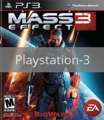 Image of Mass Effect 3 original video game for Playstation 3 classic game system. Rocket City Arcade, Huntsville Al. We ship used video games Nationwide