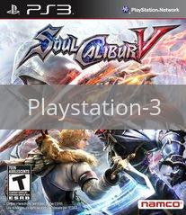 Image of Soul Calibur V original video game for Playstation 3 classic game system. Rocket City Arcade, Huntsville Al. We ship used video games Nationwide