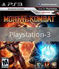 Image of Mortal Kombat original video game for Playstation 3 classic game system. Rocket City Arcade, Huntsville Al. We ship used video games Nationwide