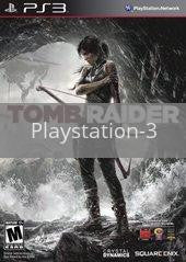 Image of Tomb Raider original video game for Playstation 3 classic game system. Rocket City Arcade, Huntsville Al. We ship used video games Nationwide