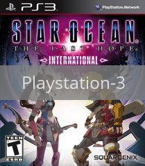 Image of Star Ocean: The Last Hope International original video game for Playstation 3 classic game system. Rocket City Arcade, Huntsville Al. We ship used video games Nationwide