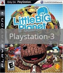 Image of LittleBigPlanet original video game for Playstation 3 classic game system. Rocket City Arcade, Huntsville Al. We ship used video games Nationwide