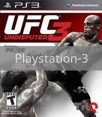 Image of UFC Undisputed 3 original video game for Playstation 3 classic game system. Rocket City Arcade, Huntsville Al. We ship used video games Nationwide
