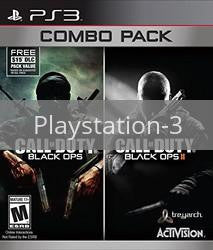 Image of Call of Duty Black Ops I and II Combo Pack original video game for Playstation 3 classic game system. Rocket City Arcade, Huntsville Al. We ship used video games Nationwide