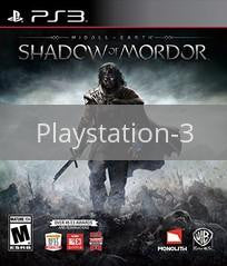 Image of Middle Earth: Shadow of Mordor original video game for Playstation 3 classic game system. Rocket City Arcade, Huntsville Al. We ship used video games Nationwide