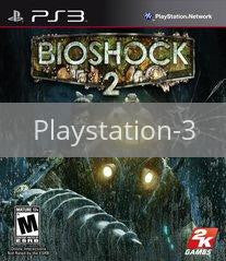 Image of BioShock 2 original video game for Playstation 3 classic game system. Rocket City Arcade, Huntsville Al. We ship used video games Nationwide