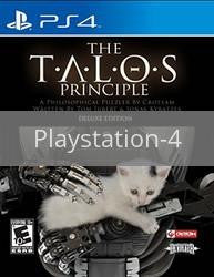 Image of The Talos Principle: Deluxe Edition original video game for Playstation 4 classic game system. Rocket City Arcade, Huntsville Al. We ship used video games Nationwide