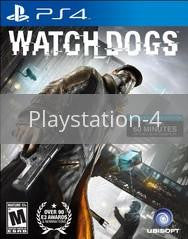 Image of Watch Dogs original video game for Playstation 4 classic game system. Rocket City Arcade, Huntsville Al. We ship used video games Nationwide