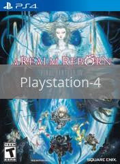 Image of Final Fantasy XIV: A Realm Reborn Collector's Edition original video game for Playstation 4 classic game system. Rocket City Arcade, Huntsville Al. We ship used video games Nationwide