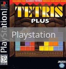 Image of Tetris Plus original video game for Playstation classic game system. Rocket City Arcade, Huntsville Al. We ship used video games Nationwide