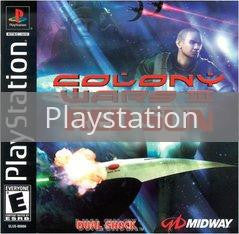 Image of Colony Wars Red Sun original video game for Playstation classic game system. Rocket City Arcade, Huntsville Al. We ship used video games Nationwide