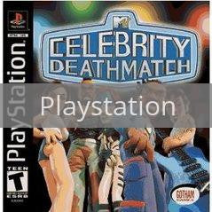Image of MTV Celebrity Deathmatch original video game for Playstation classic game system. Rocket City Arcade, Huntsville Al. We ship used video games Nationwide