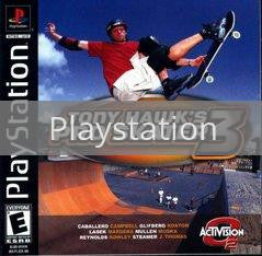 Image of Tony Hawk 3 original video game for Playstation classic game system. Rocket City Arcade, Huntsville Al. We ship used video games Nationwide