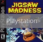 Image of Jigsaw Madness original video game for Playstation classic game system. Rocket City Arcade, Huntsville Al. We ship used video games Nationwide
