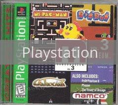 Image of Namco Museum Volume 3 original video game for Playstation classic game system. Rocket City Arcade, Huntsville Al. We ship used video games Nationwide