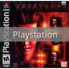 Image of Countdown Vampires original video game for Playstation classic game system. Rocket City Arcade, Huntsville Al. We ship used video games Nationwide