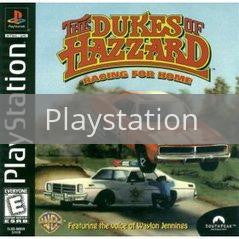 Image of Dukes of Hazzard Racing for Home original video game for Playstation classic game system. Rocket City Arcade, Huntsville Al. We ship used video games Nationwide