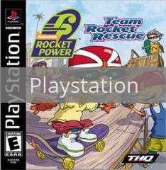 Image of Rocket Power Team Rocket Rescue original video game for Playstation classic game system. Rocket City Arcade, Huntsville Al. We ship used video games Nationwide