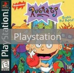Image of Rugrats Search for Reptar original video game for Playstation classic game system. Rocket City Arcade, Huntsville Al. We ship used video games Nationwide