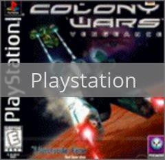 Image of Colony Wars Vengeance original video game for Playstation classic game system. Rocket City Arcade, Huntsville Al. We ship used video games Nationwide