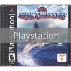 Image of Saltwater Sport Fishing original video game for Playstation classic game system. Rocket City Arcade, Huntsville Al. We ship used video games Nationwide
