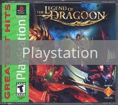 Image of Legend of Dragoon original video game for Playstation classic game system. Rocket City Arcade, Huntsville Al. We ship used video games Nationwide