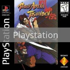 Image of Battle Arena Toshinden original video game for Playstation classic game system. Rocket City Arcade, Huntsville Al. We ship used video games Nationwide