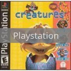 Image of Creatures original video game for Playstation classic game system. Rocket City Arcade, Huntsville Al. We ship used video games Nationwide