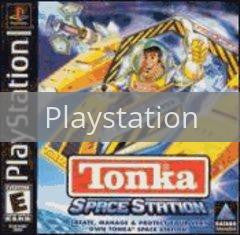 Image of Tonka Space Station original video game for Playstation classic game system. Rocket City Arcade, Huntsville Al. We ship used video games Nationwide