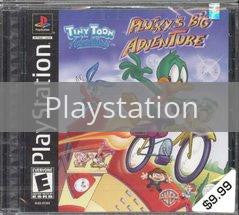 Image of Pluckys Big Adventure original video game for Playstation classic game system. Rocket City Arcade, Huntsville Al. We ship used video games Nationwide