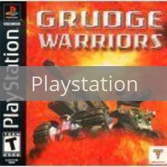 Image of Grudge Warriors original video game for Playstation classic game system. Rocket City Arcade, Huntsville Al. We ship used video games Nationwide