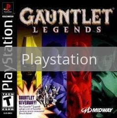 Image of Gauntlet Legends original video game for Playstation classic game system. Rocket City Arcade, Huntsville Al. We ship used video games Nationwide